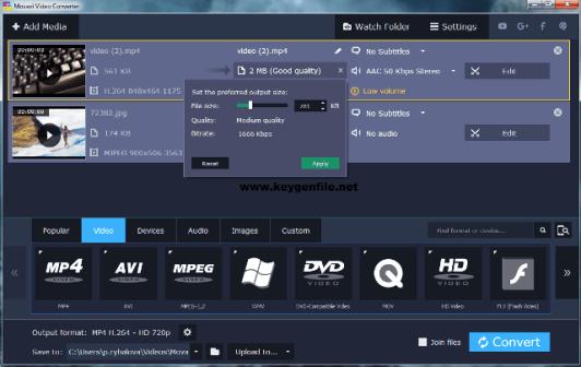 Movavi Video Converter Premium 21.3.0 Crack + Activation Key Download